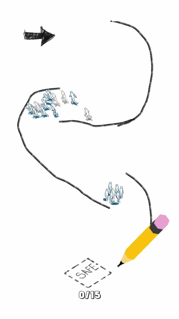画条路游戏
