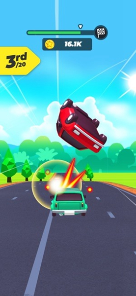 公路大碰撞游戏
