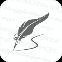 英文书法app