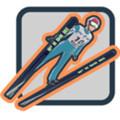 滑雪跳跃安卓版