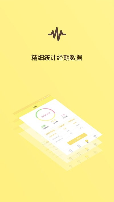 记录经期app