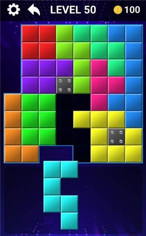 简易脑块拼图截图