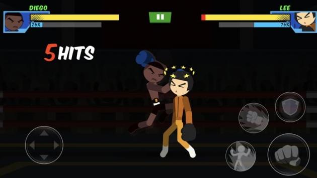 拳击缠斗超级明星手机版