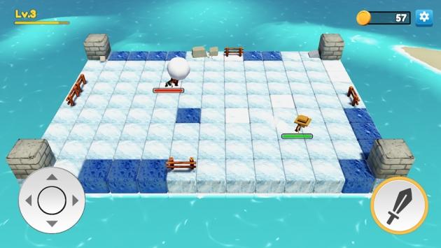 一起打雪仗ios版手游