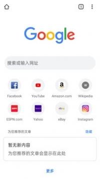谷歌浏览器中文手机版