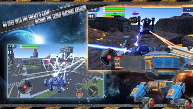 机器人激战3D手游安卓版下载