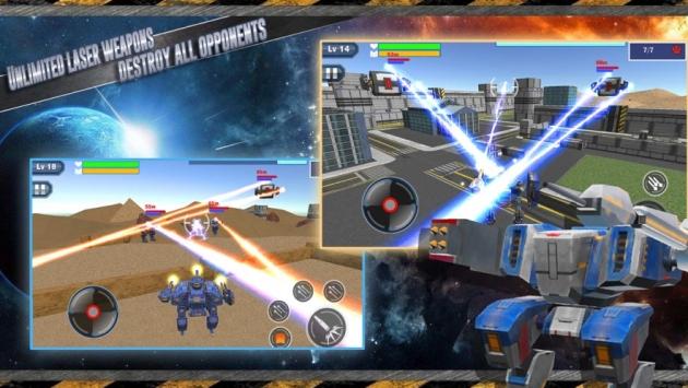 机器人激战3D手游下载