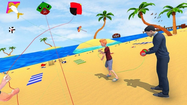 风筝巴桑特战斗3D